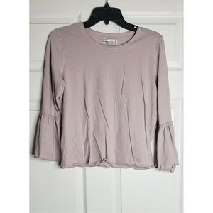 Abercrombie & Fitch Lavender Top